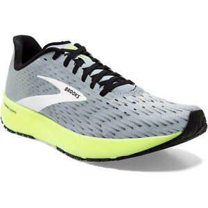 NEW MEN BROOKS 110339 099 HYPERION TEMPO RUNNING CUSHION GREY SHOES SNEAKERS