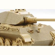 Tamiya 12649 King Tiger Porsche Zim recubrimiento Hoja 1:35 Modelo Militar Kit