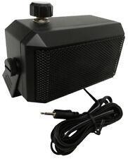 Extension Speaker For Mobile Radios 3.5mm Plug + Volume Control - Kenwood Icom
