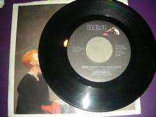 "Country 45 Eurythmics ""Here Comes The Rain Again"" RCA 1983 VG+"