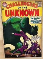 CHALLENGERS OF THE UNKNOWN #38 (1964) DC Comics VG+
