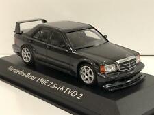Mercedes-benz 190E 2.5-16 Evo2 1990 negro Metálico 1 43 Minichamps Maxichamps