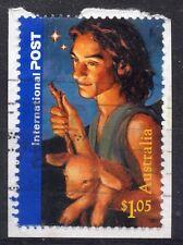 AUSTRALIA = 2006 $1.05 International Post, SG2733. Used on neat piece. (a)
