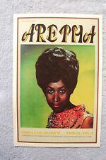 Aretha Franklin Concert Tour poster 1968 Portland Oregon__