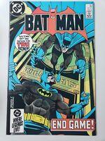 BATMAN #381 (1985) DC COMICS 1ST PRINT! DOUG MOENCH! HOBERG & ALCALA ART! NM