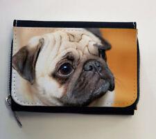 Mops- Geldbörse - Hund - Pug - Neu