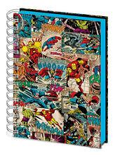 Tapa Dura De Marvel Comics de paneles Lenticular A5 Portátil Nuevo Forrado oficial
