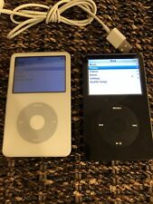 Apple iPod Classic 30GB Black And White A1136 5th Generation.!!