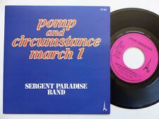 SERGENT PARADISE BAND Pomp and circumstance march 1 107001 RRR