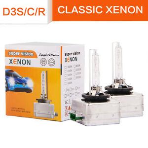 2Pcs D3S D3C Xenon White 6000K Bulb 66340 9285304244 Replace For PHILIPS OSRAM