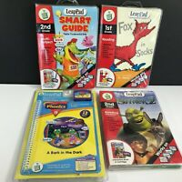 Lot of 4 Leap Frog LeapPad Learning System Homeschool Education Cartridges