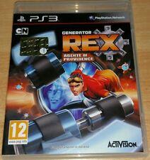PS3 Playstation 3 gioco Generator Rex Agente di Providence italiano come nuovo