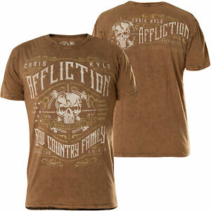 AFFLICTION OPERATOR Special Ops CK Mens MEDIUM T shirt New A19611 Tee