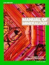 Manual of Mineralogy (after James D. Dana)