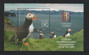ICELAND 2009 NORDIA'2009 Nordic Philatelic Expedition Miniature sheet/Block MNH