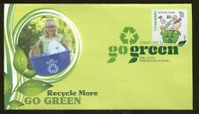 2011 Washington DC - Go Green - Recycle More - Fleetwood FDC