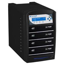 SharkBlu 1-4 Blu-Ray DVD CD Duplicator 500GB HDD USB 3.0 (LG Burner) BD-LG-4-BK