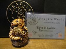 Harmony Kingdom Mps Fragile World Tiger in Lychee Figurine by David Lawrence