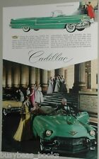 1956 Cadillac advertisement, CADILLAC convertible at  Boston Museum of Fine Arts