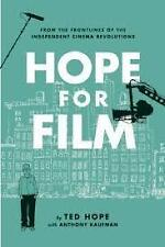 HOPE FOR FILM- TED HOPE (HARDCOVER) NEW, FREE SHIPPING WITH ONLINE TRACKING