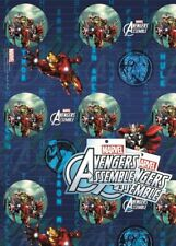 Marvel Avengers Assemble wrapping paper - Gift Wrap 2 sheets 49cm x 70cm Hulk