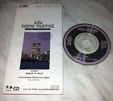 CD DIONNE WARWICK - ALFIE - I' LL NEVER FALL IN LOVE AGAIN - FHDG-1003 - JAPAN 3