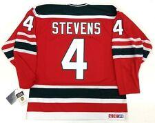 "SCOTT STEVENS NEW JERSEY DEVILS CCM VINTAGE JERSEY NHL 75th ANNIVERSARY ""A"" NEW"