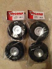 Traxxas Monster Jam Series Front & Rear Assembled Tires w/ Wheels 3663 3665