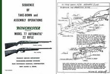 Winchester Model 77 Sequence of Take-Down and Assembly Operations
