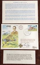 R.A.F AVIATION,HISTORIC AVIATERS,F.M.F.WEST,AIR COMMODRE,SIGNED FDC