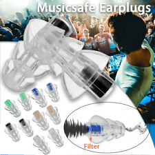 27db Noise Canceling Earplug For Concert Musician Motorcycle Hearing !