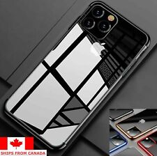For iPhone 11 Pro Max 7 8 XR X XS Plating Clear Soft Shockproof Slim Case Cover