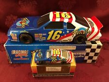 TED MUSGRAVE #16 Family Channel 1994 RCCA 1/24 BW Bank & 1/64 HO Car Diecast SET