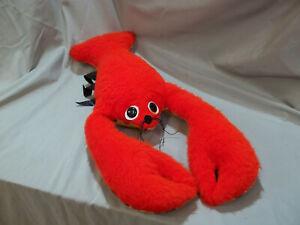 Rare HTF Vintage Ganz Bros Red Toy Lobster. From the Original Webkinz Maker!