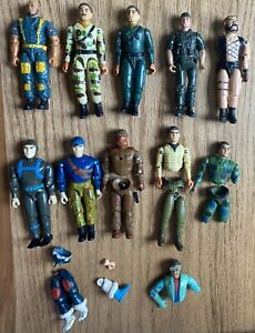 Vintage Remco and American Defense action figures