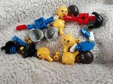 Lego Cabezas Pelo Cuerpo spares.. Ver foto vintage
