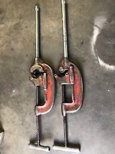 Two Ridgid  Heavy Duty Pipe Cutter N 44-s & N 4-s