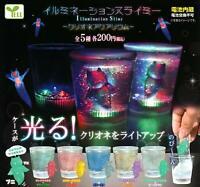 Ale illumination Sly Me Clione aquarium All 5 set Gashapon mascot toys