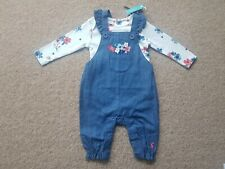 Joules Wilbury Dungaree Set BNWT Age 0-3 Months
