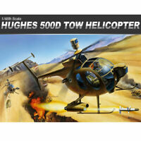 [Academy] 12250 1/48 Tow Defender 500D Hughes Aero Helicopter Plastic Model Kit