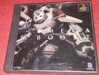 OMEGA BOOST PlayStation 1 Japanese import US Seller
