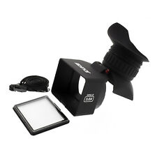 "Albinar VF-5 3.0X Magnification HD DSLR Foldable LCD Viewfinder for 3.0"" Screens"