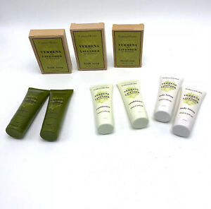 Crabtree Evelyn Verbena Lavender De Provence Soap Shampoo Conditioner Lotion Lot