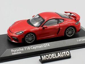 Minichamps 1:43 PORSCHE 718 CAYMAN GT4 (982) - 2020 - INDISCHROT
