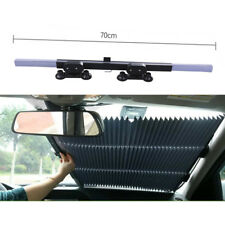 Car Retractable Front Window Sun Shade Visor Folding Auto Windshield Block Cover