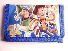 Toy Story Woody Kids Boys Filler TRI FOLD Wallet Purse Coins Bag buzz lightyear