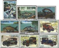 Spanien 2289-2293,2295-2298 (kompl.Ausg.) postfrisch 1977 Sondermarken