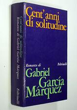 Gabriel García Márquez - Cent'anni di solitudine - Feltrinelli 1969