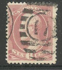 Scott #208, Single 1882 Abraham Lincoln 6c FVF Used