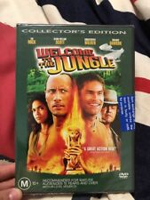 💕Welcome To The Jungle The Rock (DVD, region 4) New Collector Edition💕